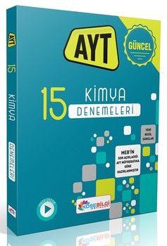KöşeBilgi Yayınları AYT Kimya 15 Branş Denemesi