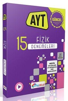 KöşeBilgi Yayınları AYT Fizik 15 Branş Denemesi