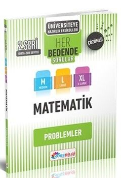 KöşeBilgi Yayınları Üniversiteye Hazırlık Matematik Her Bedende Sorular 2. Seri Problemler