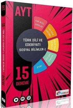 KöşeBilgi Yayınları AYT Türk Dili ve Edebiyatı Sosyal Bilimler 1 15 Deneme