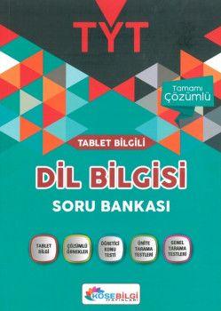 KöşeBilgi Yayınları TYT Dil Bilgisi Konu Özetli Soru Bankası