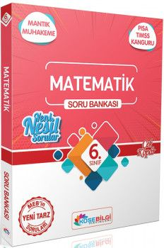 KöşeBilgi Yayınları 6. Sınıf Matematik Özet Bilgili Soru Bankası