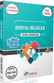 KöşeBilgi Yayınları 7. Sınıf Sosyal Bilgiler Özet Bilgili Soru Bankası