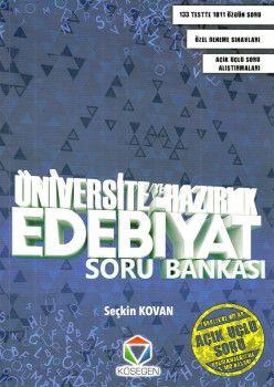 Köşegen Yayınları Üniversiteye Hazırlık Edebiyat Soru Bankası