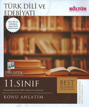 Kültür Yayıncılık 11. Sınıf Türk Dili ve Edebiyatı BEST Konu Anlatımı