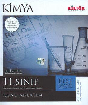 Kültür Yayıncılık 11. Sınıf Kimya BEST Konu Anlatımı