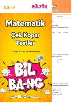 Kültür Yayıncılık 5. Sınıf Matematik Bil Bang Çek Kopar Testler