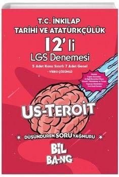 Kültür Yayıncılık 8. Sınıf LGS T.C. İnkılap Tarihi Ve Atatürkçülük Bilbang Usteroit 12 li Denemesi