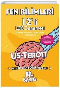 Kültür Yayıncılık 8. Sınıf LGS Fen Bilimleri Bilbang Usteroit 12 li Denemesi