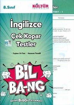 Kültür Yayıncılık 8. Sınıf İngilizce Bil Bang Çek Kopar Testler
