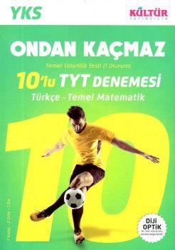 Kültür Yayıncılık YKS 1. Oturum TYT Türkçe Temel Matematik 10 lu Denemesi