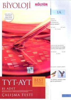 Kültür Yayıncılık TYT AYT Biyoloji BEST ÇalışmaTesti