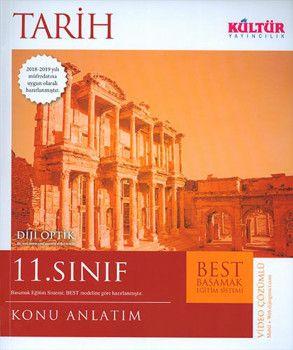 Kültür Yayıncılık 11. Sınıf Tarih BEST Konu Anlatımı