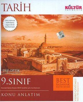 Kültür Yayıncılık 9. Sınıf Tarih BEST Konu Anlatım