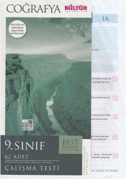 Kültür Yayıncılık 9. Sınıf Coğrafya Çalışma Testleri