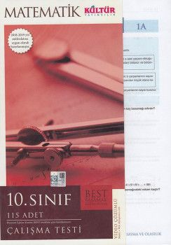 Kültür Yayıncılık 10. Sınıf Matematik Çalışma Testleri