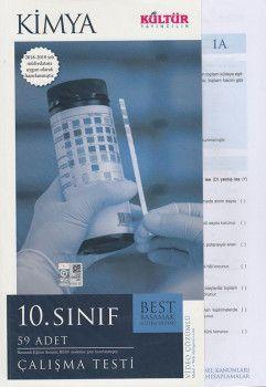 Kültür Yayıncılık 10. Sınıf Kimya Çalışma Testleri