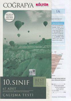 Kültür Yayıncılık 10. Sınıf Coğrafya Çalışma Testleri