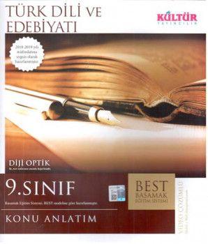 Kültür Yayıncılık 9. Sınıf Türk Dili ve Edebiyatı BEST Konu Anlatımı