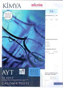 Kültür Yayıncılık AYT Kimya BEST ÇalışmaTesti