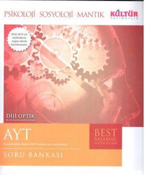 Kültür Yayıncılık AYT Psikoloji Sosyoloji Mantık BEST Soru Bankası