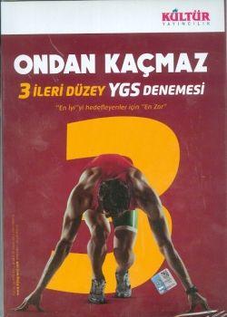 Kültür Yayınları YGS Ondan Kaçmaz 3 İleri Düzey Deneme