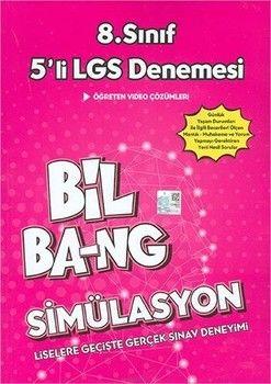Kültür Yayınları 8. Sınıf LGS Simülasyon Bil Bang 5 li Denemesi