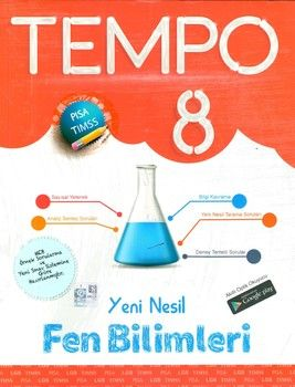 Kırmızı Beyaz Yayınları 8. Sınıf Fen Bilimleri Yeni Nesil Tempo
