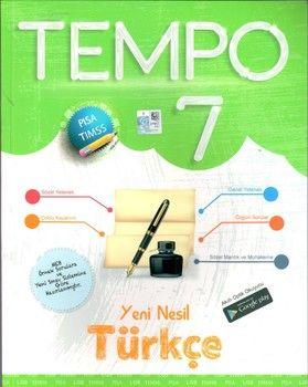 Kırmızı Beyaz Yayınları 7. Sınıf Türkçe Yeni Nesil Tempo
