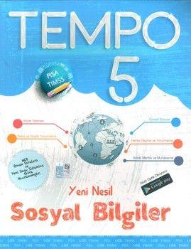 Kırmızı Beyaz Yayınları 5. Sınıf Sosyal Bilgiler Yeni Nesil Tempo