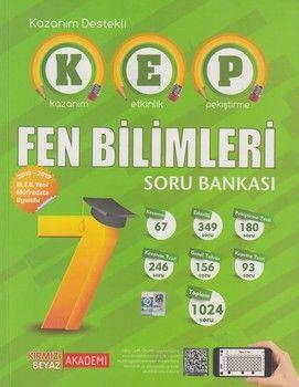 Kırmızı Beyaz Yayınları 7. Sınıf Fen Bilimleri KEP Soru Bankası