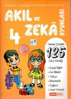 Kırmızı Beyaz Yayınları 4. Sınıf Akıl ve Zeka Oyunları