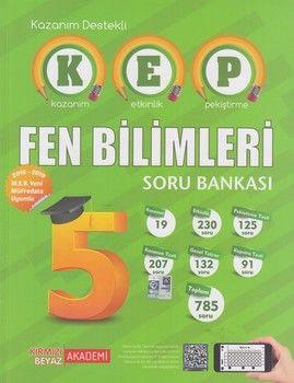 Kırmızı Beyaz Yayınları 5. Sınıf Fen Bilimleri KEP Soru Bankası