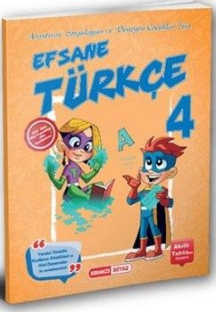 Kırmızı Beyaz Yayınları 4. Sınıf Efsane Türkçe