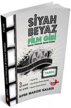 Kısayol Yayınları KPSS Tarih Siyah Beyaz Film Gibi Soru Bankası