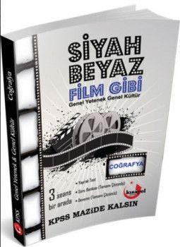 Kısayol Yayınları KPSS Coğrafya Siyah Beyaz Film Gibi Soru Bankası
