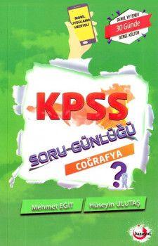 Kısayol Yayınları KPSS Coğrafya Soru Günlüğü