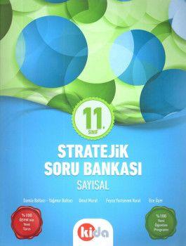 Kida Yayınları 11. Sınıf Stratejik Sayısal Soru Bankası