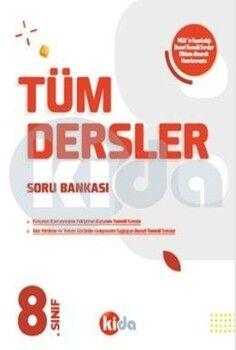 Kida Yayınları 8. Sınıf Tüm Dersler Soru Bankası