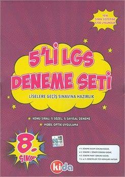 Kida Yayınları 8. Sınıf LGS 5 li Deneme Seti