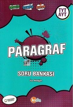 Kida Yayınları TYT AYT Paragraf Soru Bankası