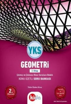 Kida Yayınları YKS 2. Oturum Geometri Konu Özetli Soru Bankası