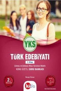 Kida Yayınları YKS 2. Oturum Türk Edebiyatı Konu Özetli Soru Bankası