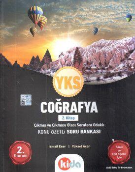Kida Yayınları YKS 2. Oturum Coğrafya Konu Özetli Soru Bankası 2. Kitap