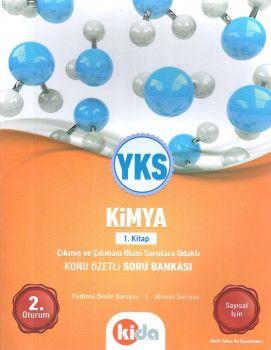 Kida Yayınları YKS 2. Oturum Kimya Konu Özetli Soru Bankası 1. Kitap