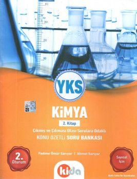 Kida Yayınları YKS 2. Oturum Kimya Konu Özetli Soru Bankası 2. Kitap