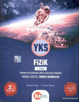 Kida Yayınları YKS 2. Oturum Fizik Konu Özetli Soru Bankası 1. Kitap