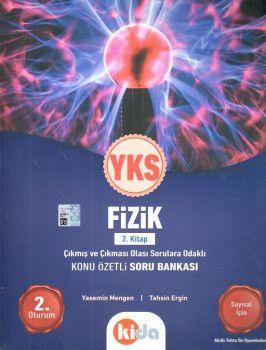 Kida Yayınları YKS 2. Oturum Fizik Konu Özetli Soru Bankası 2. Kitap