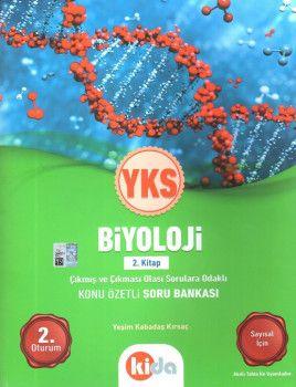 Kida Yayınları YKS 2. Oturum Biyoloji Konu Özetli Soru Bankası 2. Kitap