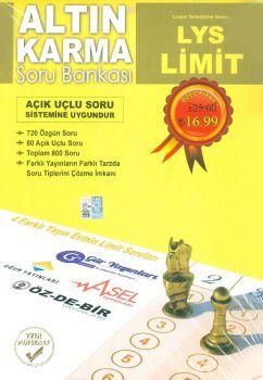 Kitap Ekseni Yayınları LYS Limit Altın Karma Soru Bankası